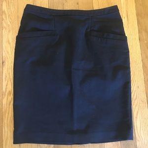 Black H&M pencil skirt.